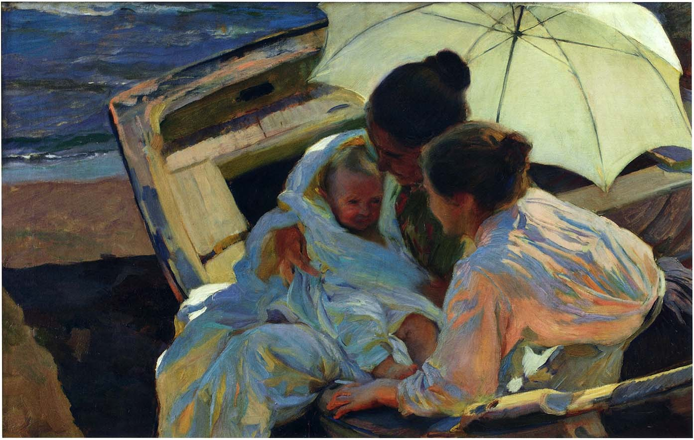 After the Bath, Joaquin Sorolla y Bastida - 1902